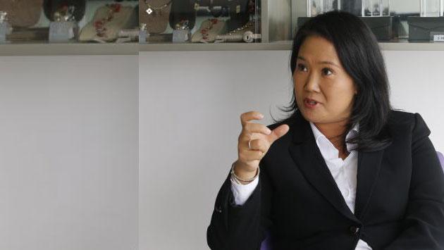 """Keiko Fujimori a PPK: """"Indúltelo"""""""