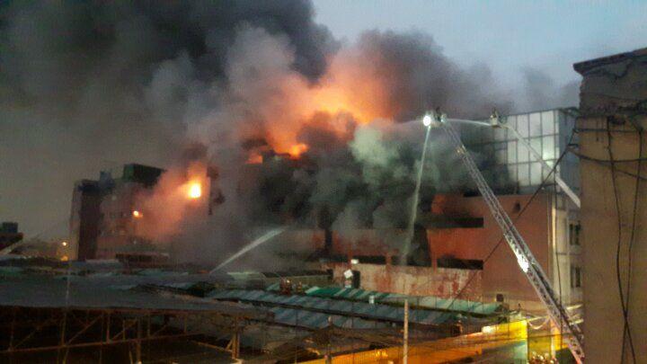 Se registraron nuevas explosiones en el incendio en Las Malvinas. (Perú21)