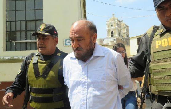 Ex alcalde de Chiclayo, Roberto Torres.