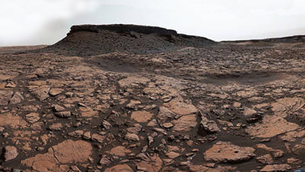 NASA: Mira la peculiar fotografía que captó una sonda sobre la superficie de Marte (NASA)