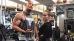 'La Roca' y Jennifer López sorprenden en pleno entrenamiento - Noticias de tom hanks