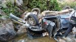 Huarochirí: Dos personas murieron tras caída de camioneta a abismo [FOTOS Y VIDEO]