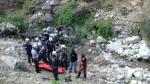 Huarochirí: Dos personas murieron tras caída de camioneta a abismo [FOTOS Y VIDEO] - Noticias de accidentes de tránsito