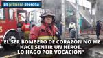 Ricardo Chacaliaza, el bombero que postergó su aniversario de bodas por atender el incendio en Las Malvinas - Noticias de casada