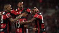 Flamengo de Paolo Guerero y Miguel Trauco se mide con Chapecoense por la fecha 9 del Brasileirao 2017. (AFP)
