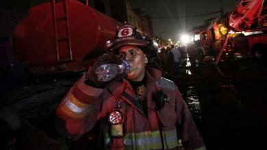Incendio en Las Malvinas: Fotos muestran la magnitud del desastre