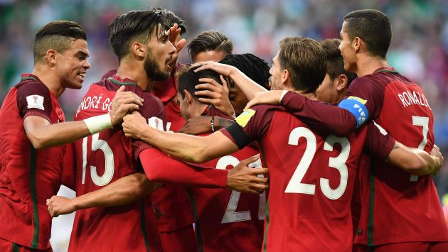 Portugal y Nueva Zelanda disputan la fecha 3 del Grupo A de la Copa Confederaciones 2017. (AFP)