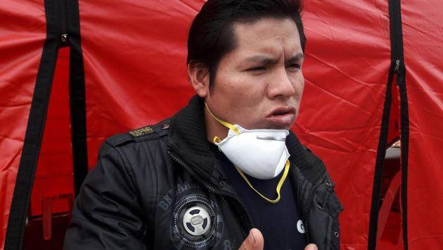 "César Herrera contó a Perú21 que a su sobrino le enseñaron a ""bambear"" productos. (Elisa Reyes)"