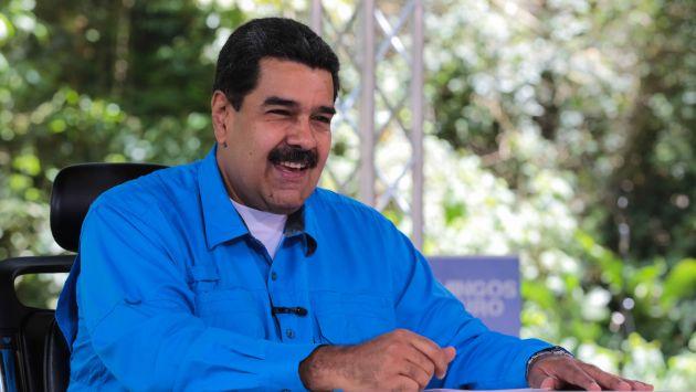 """Nicolás Maduro: """"En ONU y OEA, doble victoria"""". (EFE)"""