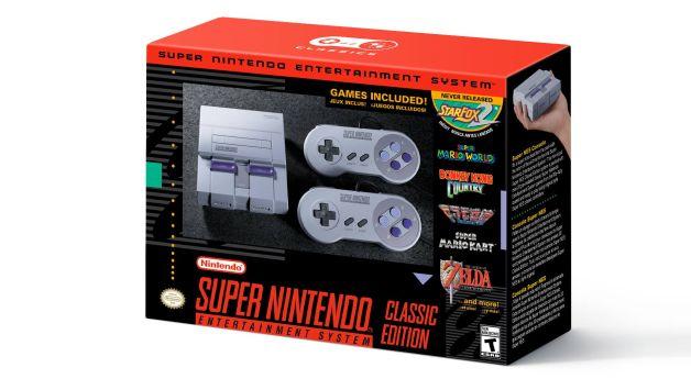 Nintendo anuncia Super Nintendo mini
