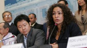 Eventual candidatura de Kenji a presidencia del Congreso divide a fujimoristas