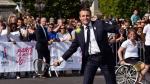 Emmanuel Macron juega tenis y promueve a París como sede de Juegos Olímpicos [Fotos] - Noticias de luis almagro