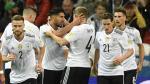 Los alemanes pasan de fase empatando el partido. (AFP)