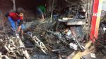 Piura: Incendio en el Mercado de telas dejó pérdidas por S/500 mil - Noticias de