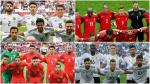Copa Confederaciones 2017: Las semifinales se jugarán entre Portugal, Chile, Alemania y México. (Composición)