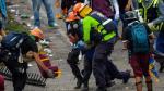 Sindicato de periodistas denunció que 376 de sus miembros han sido agredidos durante las protestas contra Nicolás Maduro (AFP).