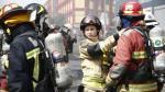 Cada equipamiento para un bombero cuesta 15 mil soles aproximadamente. (Rafael Cornejo)