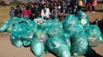 Más de 45 toneladas de basura se recogieron durante celebraciones del Inti Raymi. (Andina)