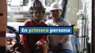 Susana y Milagros nos cuentan su historia en un momento de descanso mientras trabajan en Las Malvinas. (Foto: Mario Zapata)