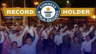 Pandilla es reconocida como la danza folclórica peruana más grande del mundo (Facebook Municipalidad de Moyobamba).