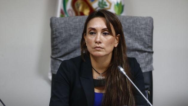 Patricia Donayre renunció a Fuerza Popular tras calificar de arbitrario el proceso disciplinario en su contra (Luis Centurión)