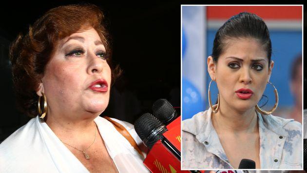 """Mamá de Milett Figueroa a Georgette Cárdenas: """"Deja de decir que mi hija es una quitamaridos""""."""