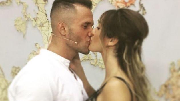 Fabio Agostini encontró el amor en un reality español (Instagram)