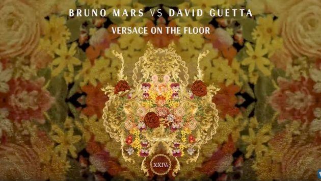 Bruno Mars lanza remix de 'Versace on the Floor' con David Guetta (iTunes)