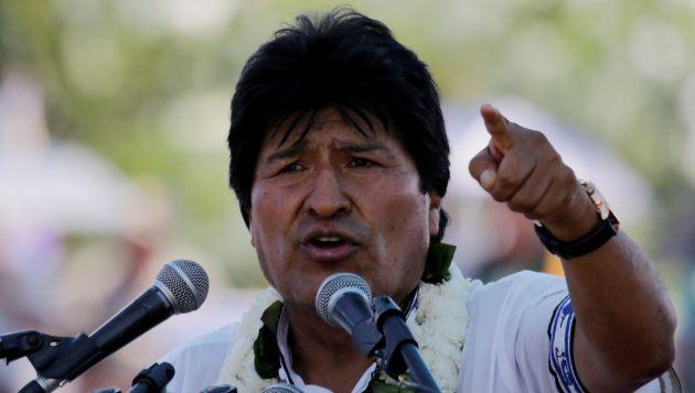 Evo Morales recomendó a su homólogo Donald Trump que si desea libertad y democracia para América Latina, primero debe pedir perdón por sus intervenciones. (REUTERS)