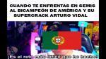 Chile venció a Portugal en penales y los memes no se hicieron esperar.