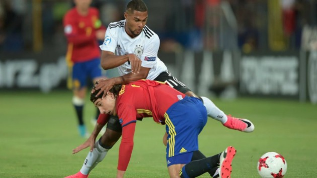 España y Alemania disputan por primera vez el trofeo de la Eurocopa Sub-21. (España/Twitter)