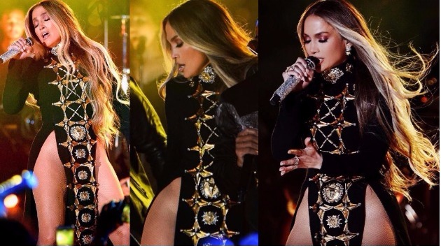 ¿Jennifer López salió al escenario sin ropa interior? (Instagram Jlo)