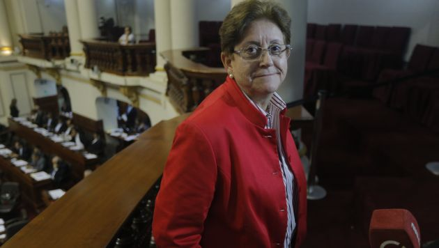 Lourdes Alcorta. (David Huamaní/Perú21)
