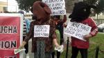 Incendio en Las Malvinas: Familiares de Jovi Herrera y Jorge Luis Huamán protestan y exigen justicia [FOTOS] - Noticias de luis huaman