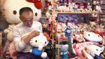 Ex policía japonés posee la colección más grande de Hello Kitty [FOTOS-VIDEO] - Noticias de resguardo policial
