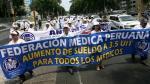 Federación Médica Peruana pedirá interpelación de ministra Patricia García - Noticias de interpelación