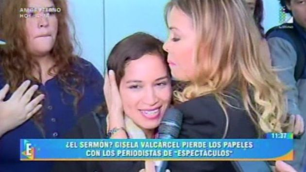 Gisela Valcárcel protagonizó incómodo momento junto a reportera de 'Amor, Amor, Amor' (Latina)