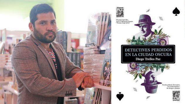 El polémico escritor Diego Trelles Paz regresa este año por partida doble. (USI)