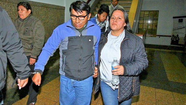 Alcalde fue detenido el lunes junto a su conviviente. (Andina)