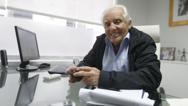 Arturo Woodman (Mario Zapata/Perú21)