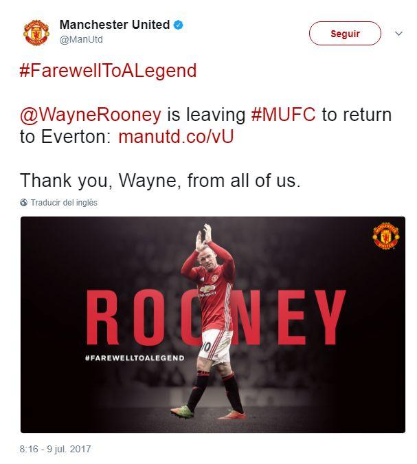 Wayne Rooney vuelve a su casa