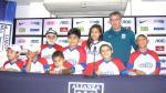 Niños que sufrieron quemaduras visitaron las instalaciones del Alianza Lima - Noticias de prensa alianza lima