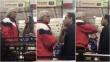 La historia completa sobre la mujer que 'choleó' y cacheteó a un hombre en un supermercado
