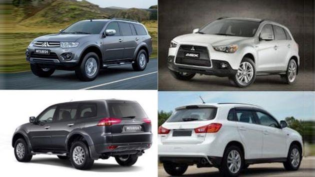 Los modelos ASX, fabricados en los años 2011 y 2012, y Montero Sport, fabricados desde 2010 al 2016 serán revisados. (Indecopi)