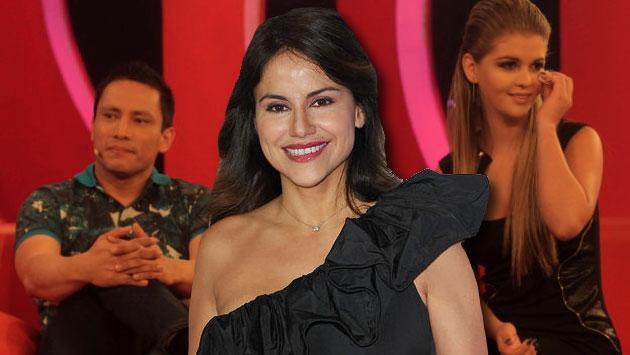 La actriz regresó a Lima y se reunió con el polémico empresario. (Composición)