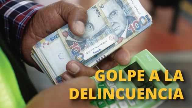 Chiclayo: Policía recupera y devuelve el millón de soles robados a casa de cambio.