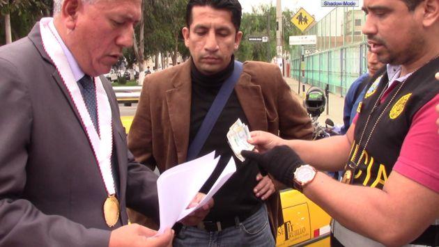 Raúl Urtecho fue detenido en Trujillo. (Alan Benites)