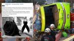Cerro San Cristóbal: Green Bus expresó sus condolencias a los deudos tras reactivar su página de Facebook - Noticias de heridos