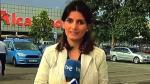 Reportera española se equivoca y sale huyendo de una transmisión en vivo [VIDEO] - Noticias de arrepentimiento