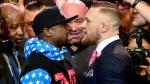 Conor McGregor intentó provocar a Floyd Mayweather con este mensaje oculto en su traje [FOTOS] - Noticias de boxeo